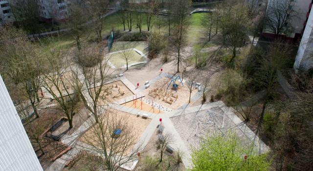Weisse Siedlung - Zentraler Spielplatz