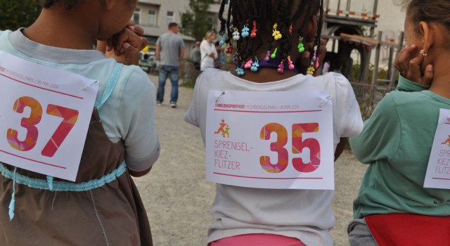 1. Familiensportfest im Sprengelpark /// 28.09.2014