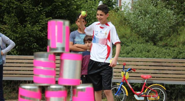 2. Familiensportfest im Sprengelpark /// 31.05.2015