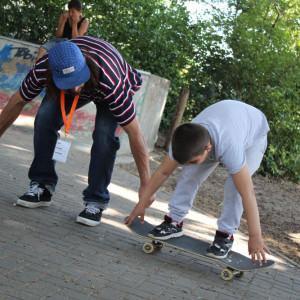 Familiensportfest auf dem Hertzbergplatz /// 07.06.2015