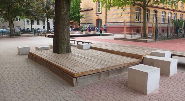 Umgestaltung des Schulhofes der Leo-Lionni-Grundschule