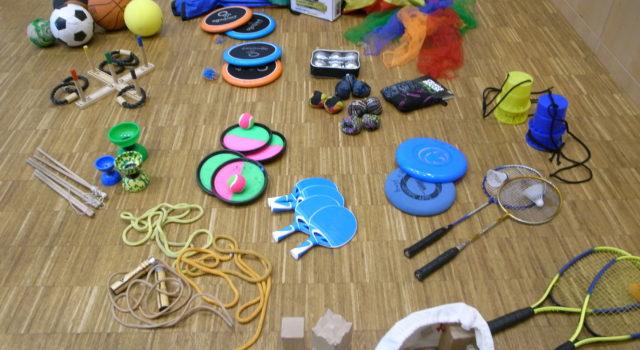 Spielgerät - Ausleihstationen im Brunnenviertel